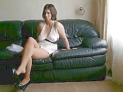 Сексуальное Chell Ниппель Через рубашке 059