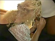 Blonde mature whore lover her pussy creamed by BBC