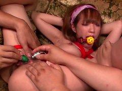 Sana Anzyu amazing bondage and - More at pissjp