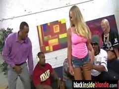 Big black cock dude fucks a white tight pussy 6