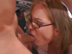 Gorgeous Tory Lane gets her moist throat slammed