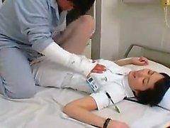 Aasian amatööri sairaanhoitaja yhtenäinen