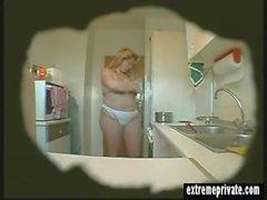della spia riprese maturano dell'Erika della cucina