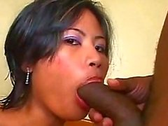 Black man has his way with Asian wife