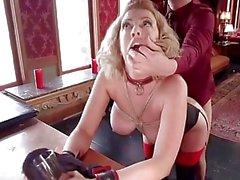 Big Titted Ex-Frau Gedreht Anal-Service-Dirne