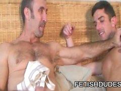 Skyler harmaat sekä Steven Richardsin : Gay Daddies alasuojus Seksi