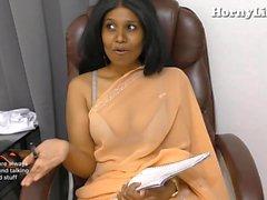 Indischer Tutor verführt Pov Rollenspiel in Hindi