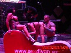 -Rob Diesel y las hermanas Ortega follada en el SEM 2016