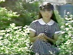 Винтаж Японский на открытом воздухе фотосессия