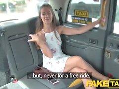 Gefälschte Taxi Geiles flexible amerikanischer Schatz