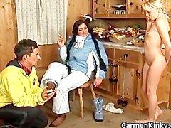 Sexy della grandi le tette Carmen part6