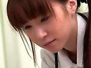 Se hur hur denna asiatiska sjuksköterskan blir så kåt att part6