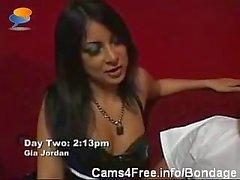 BDSM Lesbian Bondage Domination Orgy On Webcam!