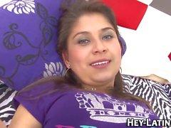 Busty latina teen fucked