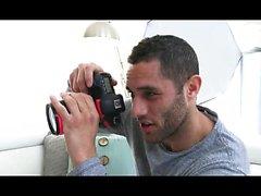 Milf recebe creampie do fotógrafo