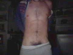 Homem reto no Skype