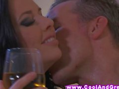 Jessie Lee gets a deep pussy fingering