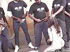 Valentina Nappi Orally Pleases Black Cocks