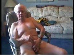 Old man 70-vuotiaana cum cam