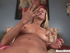 Sexy Mom Payton Leigh Perfekte Ass Anally geschliffener