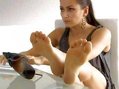 sexy und schöne Fußsohlen