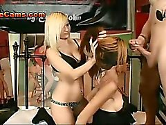 Blindfolded Slut Dominated By Couple