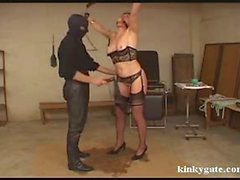 extreme spanking and bondige for slut Jessica