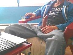 Di jeans masturbano # 11