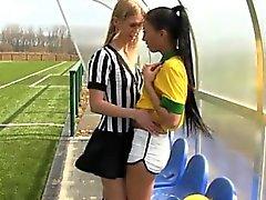 Latina teen pov bathroom sandy fantasy lesbian Brazilian pla