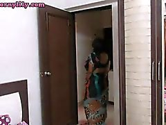Indian Aunty Lily Masturbation Sex