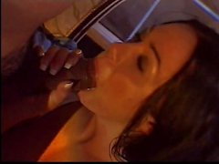 Black dick in raven haired chick
