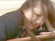 Japanese Schoolgirl Takes Cock