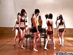 Super heiß japanische Mädchen blinkt