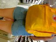 Норвежский Подростка жесткие шорты джинсовые
