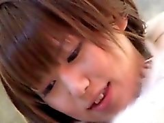 Mizuki de Hana peituda se da rachadura lambido e fodeu no
