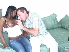 Avy Scott and Jada Fire share a cock