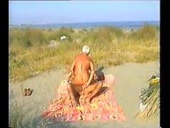 parkitun rannan isää kanssa katsojaa ovat