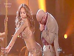 Jennifer Lopez eigentlich es getötet auf die Bühne in den letzten