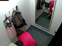 Bello Czech teenager che spiato in spogliatoio !