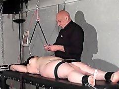 Nipple tortured crying fat slaveslut
