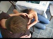 Brunette fucking hot teen blowjob hardcore