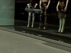 Vollbusig Blonde Fucked On schmutzige Straßenzüge