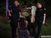 наглец полицией и Капри Кавалли полиция в первый раз автомобиль Jackin