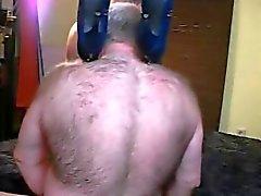 Bisex maduro, hairy pai