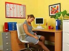 Ultra provocação secretária sexy no escritório