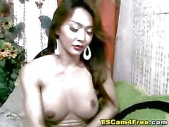 Big Boobs And Big Cock Tranny