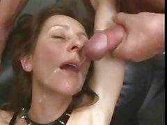 Del pugno maturo e sperma scoppio