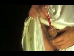 dritto maturo giovane suonando uretrale marylin lingerie giocattolo 34