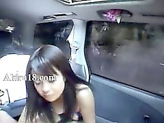 mamada de China en el coche