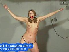 jupudoclips - Slave Training Punishment Blonde Student